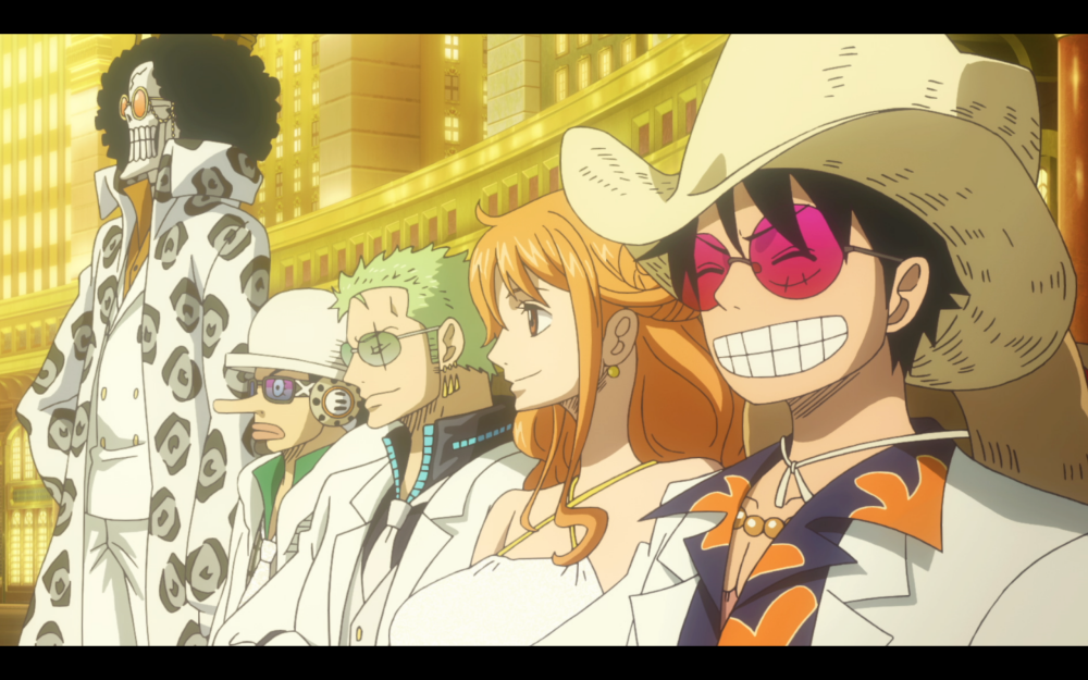 One Piece Film Gold Funimation Films