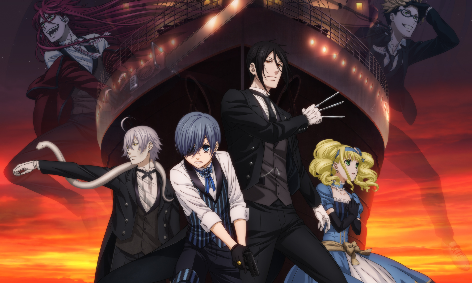 Resultado de imagen para Black Butler: Book of the Atlantic