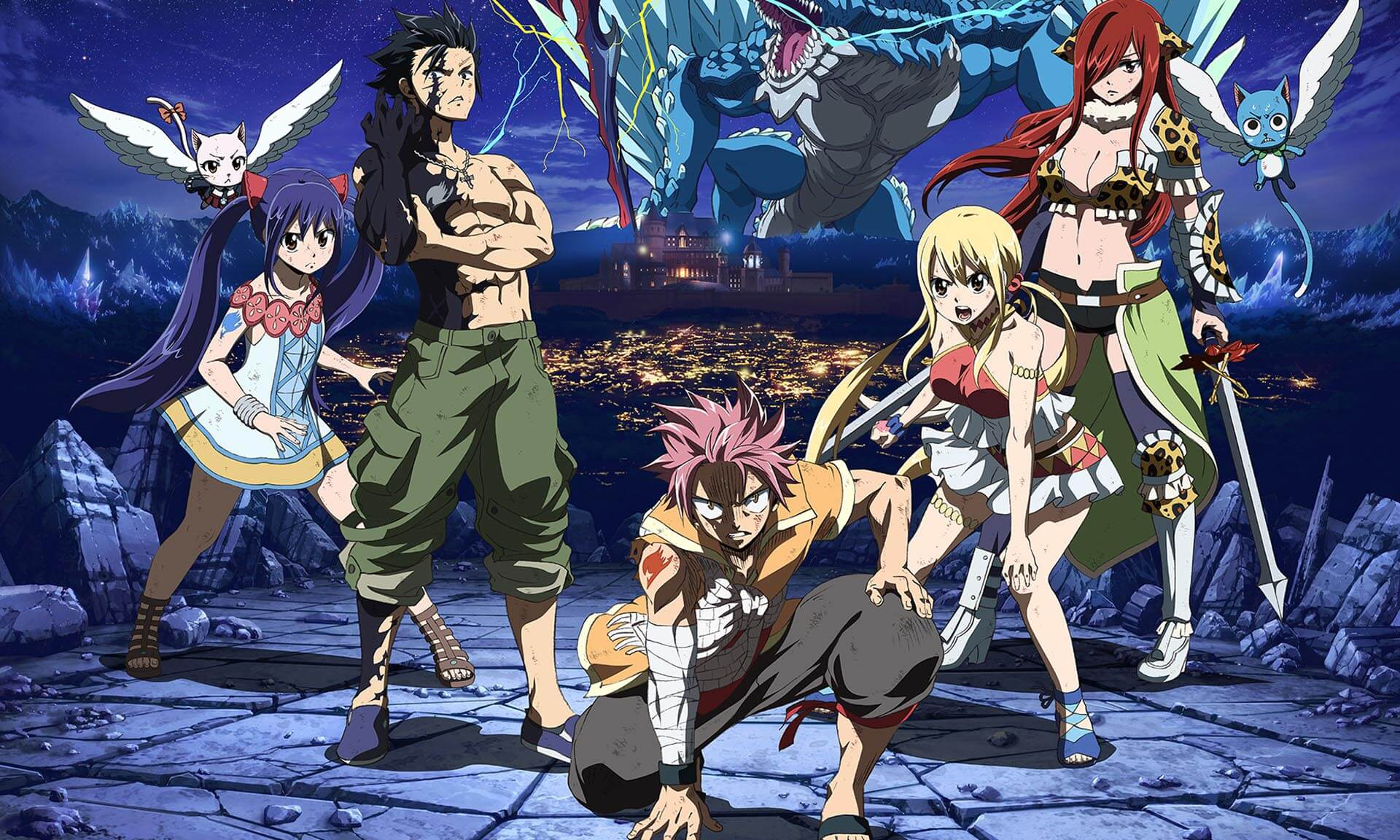 Fairy Tail Dragon Cry Funimation Films