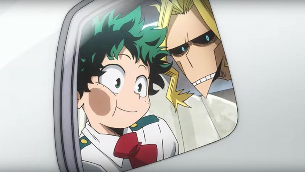 My Hero Academia Two Heroes Funimation Films